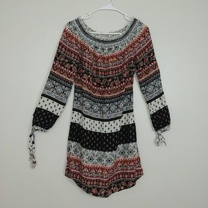 Beachlunchlounge Boho Dress Off-the-Shoulder #3080